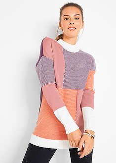 Sweter patchworkowy bpc bonprix collection 26