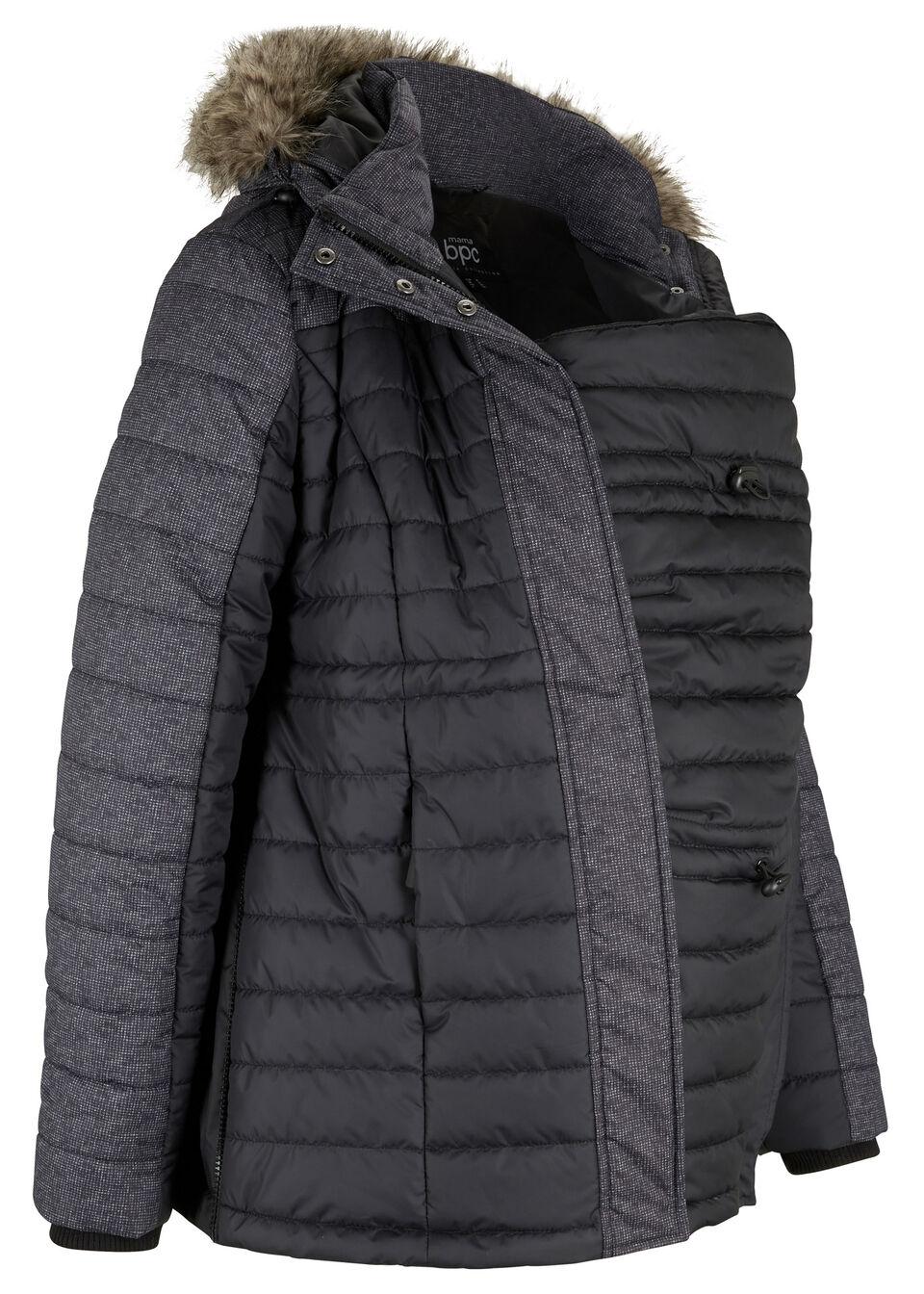 Фото - Куртку для беременных от bonprix черного цвета