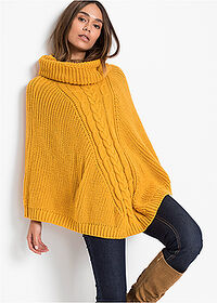 Poncho ocru bpc bonprix collection 2