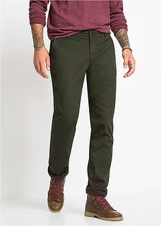 Spodnie ocieplane chino Regular Fit Straight bpc bonprix collection 21