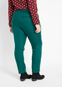 Pantaloni din Lyocell TENCEL™ verde închis bpc bonprix collection 2