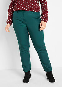 Pantaloni din Lyocell TENCEL™ verde închis bpc bonprix collection 1
