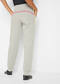 Pantaloni jogging, nivel 1 gri deschis melanj bpc bonprix collection 2