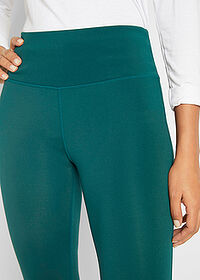 Sport legging, 2 szint mélyzöld bpc bonprix collection 4