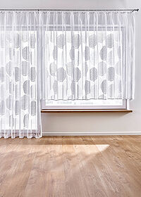 Perdea jacquard alb bpc living bonprix collection 1
