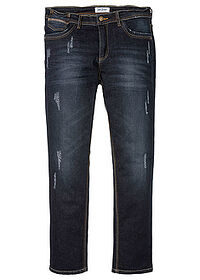 Sztreccsfarmer Slim Fit Straight sötét denim John Baner JEANSWEAR 0