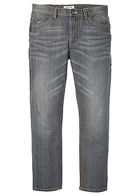 Dżinsy Loose Fit Tapered szary denim John Baner JEANSWEAR 0