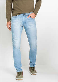 Dżinsy ze stretchem Slim Fit Straight John Baner JEANSWEAR 31