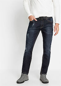 Sztreccsfarmer Slim Fit Straight sötét denim John Baner JEANSWEAR 1