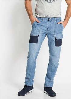 Dżinsy worker Regular Fit Straight John Baner JEANSWEAR 44