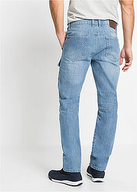 "Dżinsy worker Regular Fit Straight niebieski ""medium bleached"" John Baner JEANSWEAR 2"
