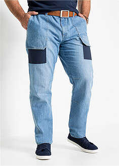 Dżinsy worker Regular Fit Straight John Baner JEANSWEAR 27