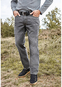 Regular Fit farmer, Straight szürke John Baner JEANSWEAR 6