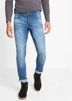 Slim Fit sztreccsfarmer, Tapered RAINBOW 3