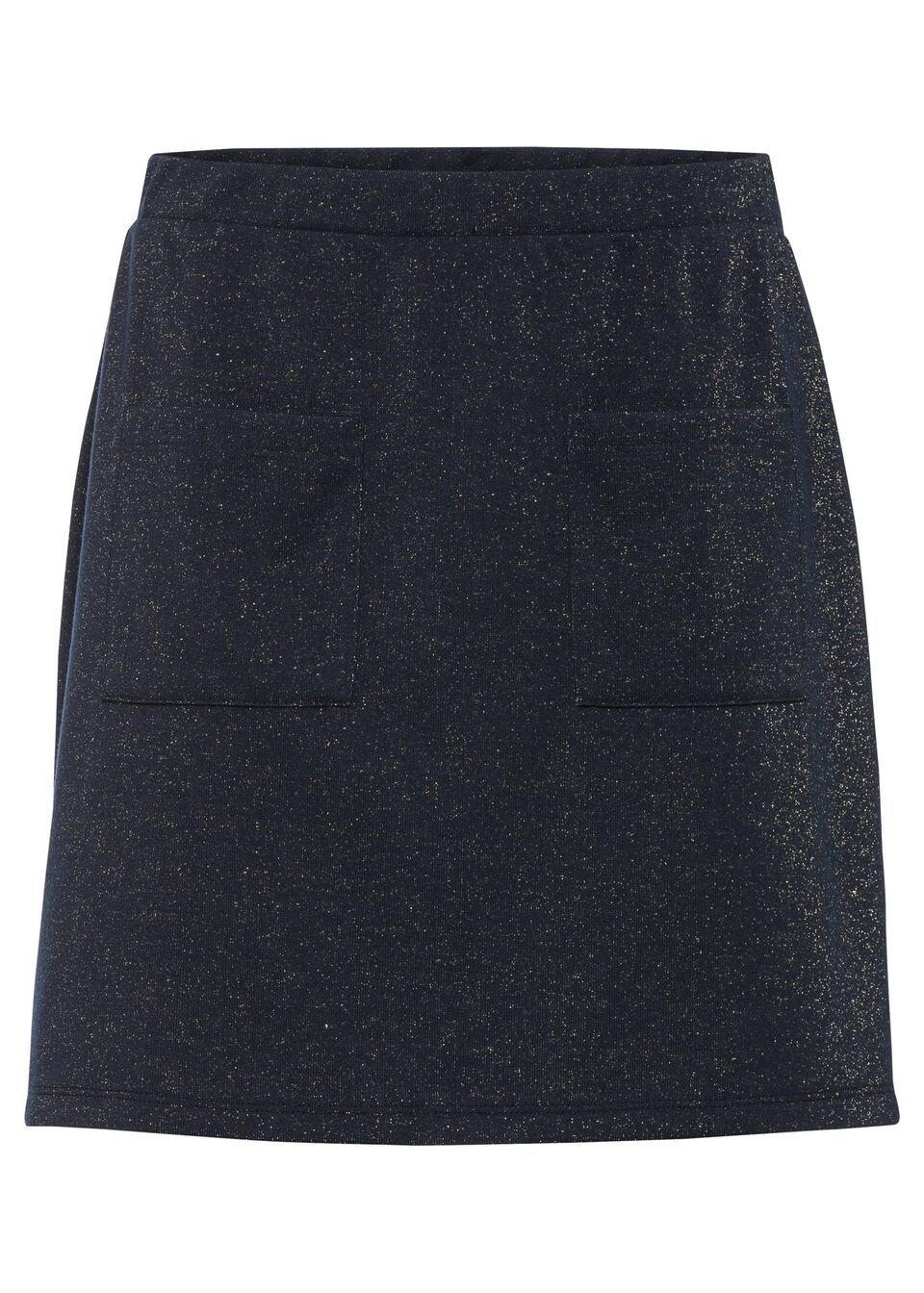 Spódnica bonprix ciemnoniebieski
