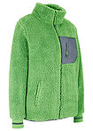 Jachetă teddy-fleece verde-mușchi mat bpc bonprix collection 13