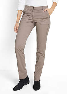 Pantaloni stretch cu fermoar bpc bonprix collection 5
