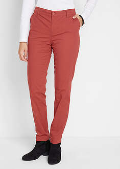 Spodnie bawełniane chino Slim Fit bpc bonprix collection 40