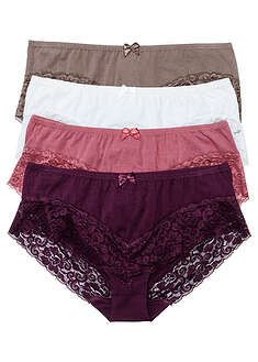 Figi panty z koronką (4 pary) bpc bonprix collection 15