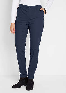 Spodnie bawełniane chino Slim Fit bpc bonprix collection 37