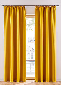 Draperie opacă uni (1buc/pac) Alamă bpc living bonprix collection 0