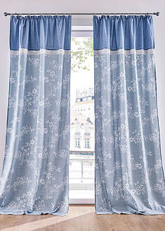 Draperie din bumbac ecologic imprimat (1buc/pac) bpc living bonprix collection 24