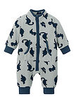Costum întreg bebe din fleece gri/marin imprimat bpc bonprix collection 1