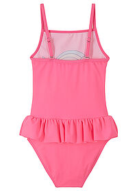 Costum de baie fete roz neon bpc bonprix collection 1