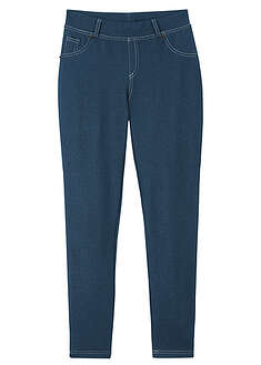 Colanţi fete cu aspect denim bpc bonprix collection 6