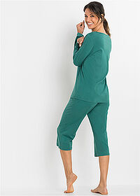 Pijama Capri verde tern imprimat bpc bonprix collection 2