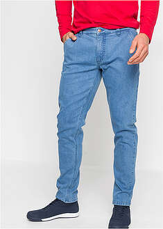 Blugi chino stretch, din bumbac organic, Regular Fit John Baner JEANSWEAR 6