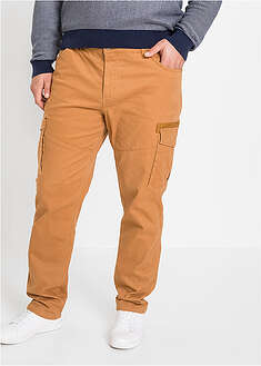 Pantaloni cargo slim fit stretch, straight bpc bonprix collection 46