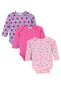 Body bebe (3buc.), bio bpc bonprix collection 38