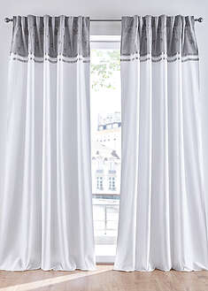 Draperie cu broderie (1buc.) bpc living bonprix collection 0
