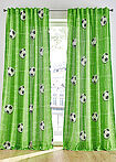 Perdea print fotbal (1buc/pac) verde bpc living bonprix collection 2