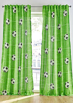 Perdea print fotbal (1buc/pac) bpc living bonprix collection 22