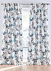 Draperie print vegetal (1buc) alb/petrol bpc living bonprix collection 6