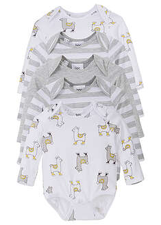 Body bebe (5buc.), bumbac eco bpc bonprix collection 34