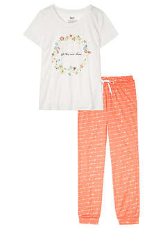 Pijama cu bumbac organic bpc bonprix collection 5