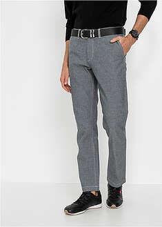 Pantaloni chino chambray Regular Fit cu talie confortabilă bpc selection 46