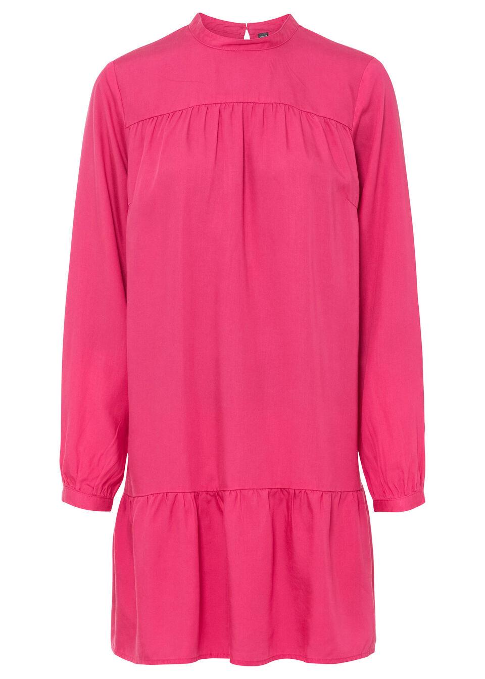 Sukienka koszulowa TENCEL™ Lyocell bonprix różowy