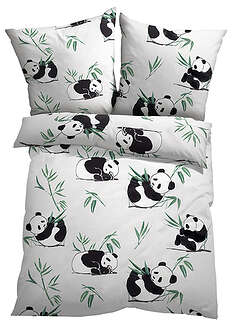 Lenjerie pat cu panda bpc living bonprix collection 17