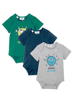 Body bebe scurt, eco (3buc.) bpc bonprix collection 19