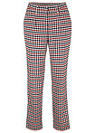Pantaloni cu model Glencheck oranj/marin cadrilat bpc bonprix collection 9