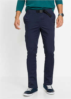 Pantaloni stretch Regular FIt cu croi confortabil, conici bpc bonprix collection 24