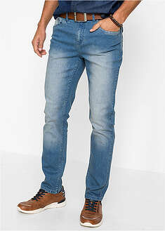 Dżinsy ze stretchem Slim Fit Straight John Baner JEANSWEAR 32