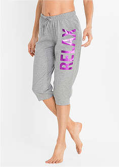 Pantaloni capri pijama (2buc.) bpc bonprix collection 18