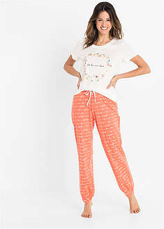 Pijama cu bumbac organic bpc bonprix collection 39