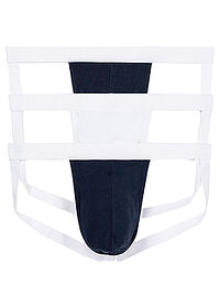 Jockstrap (3buc/pac) bleumarin/alb bpc bonprix collection 0