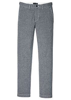 Pantaloni chino chambray Regular Fit cu talie confortabilă bpc selection 5